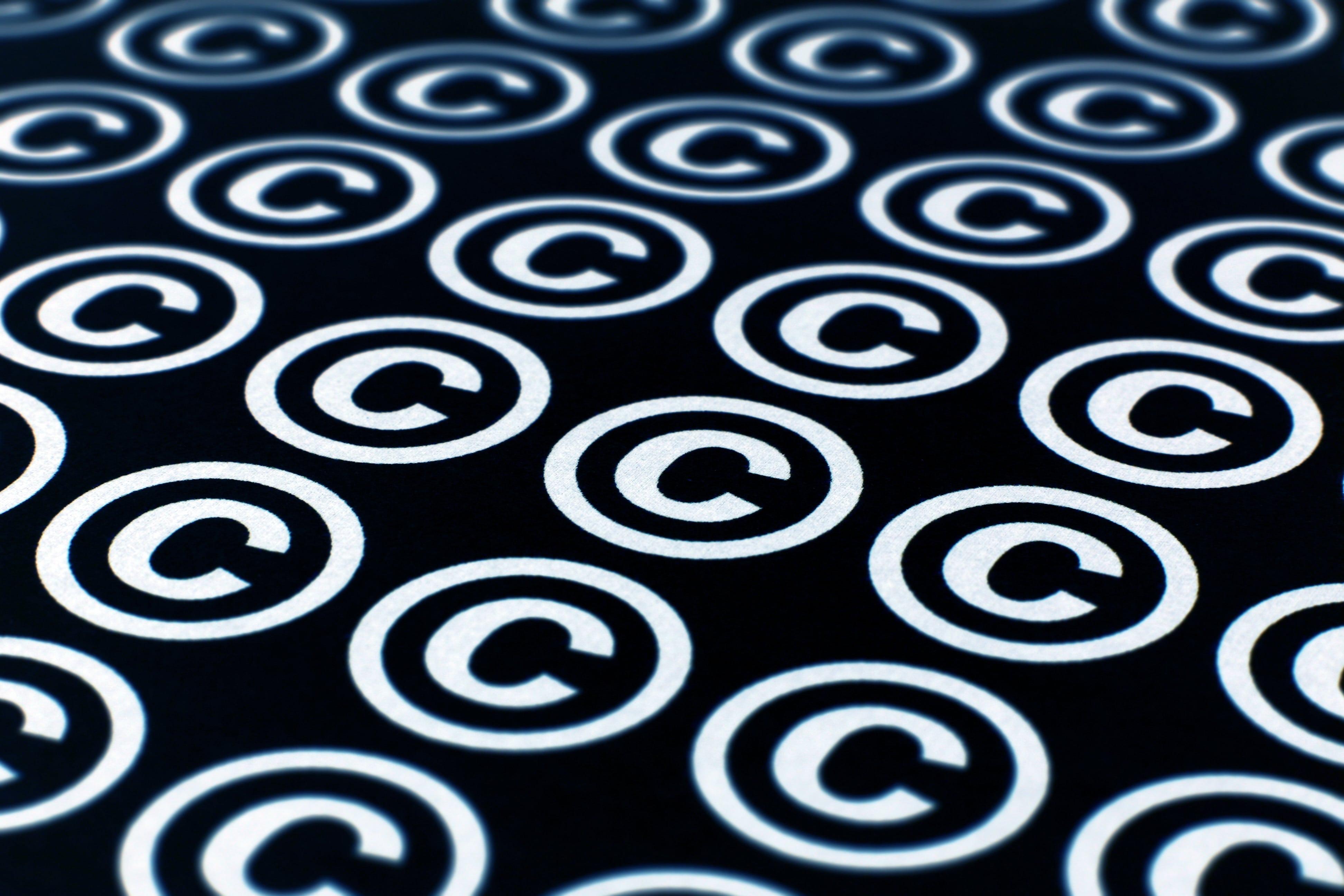 copyright symbol DMCA
