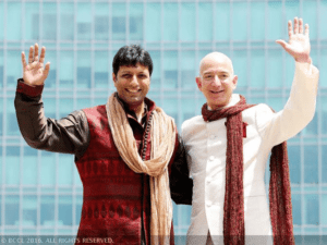 amazon CEO jeff bezos amazon india