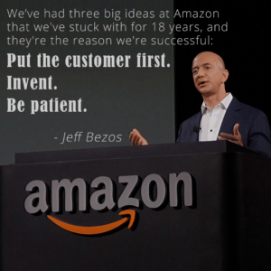 jeff bezos amazon customer service quote