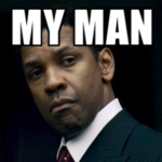 my man denzel washington