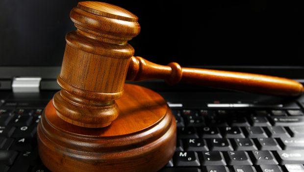 gavel on keyboard ecommerce lawyer